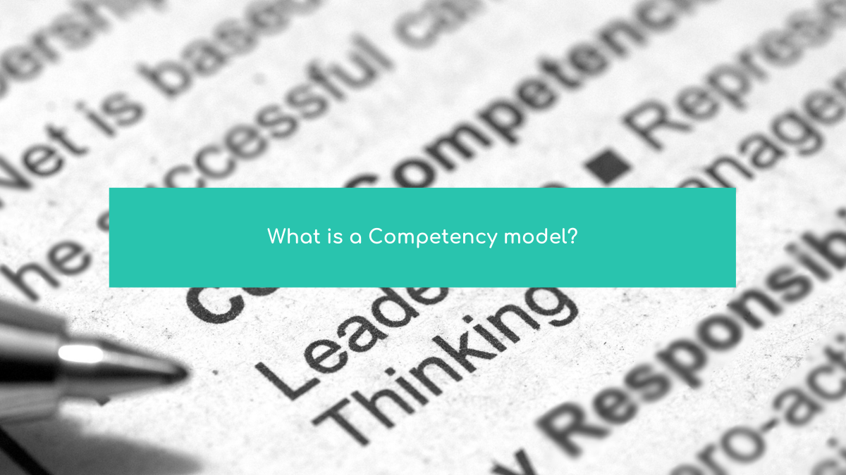 What Is Competence Modelling?