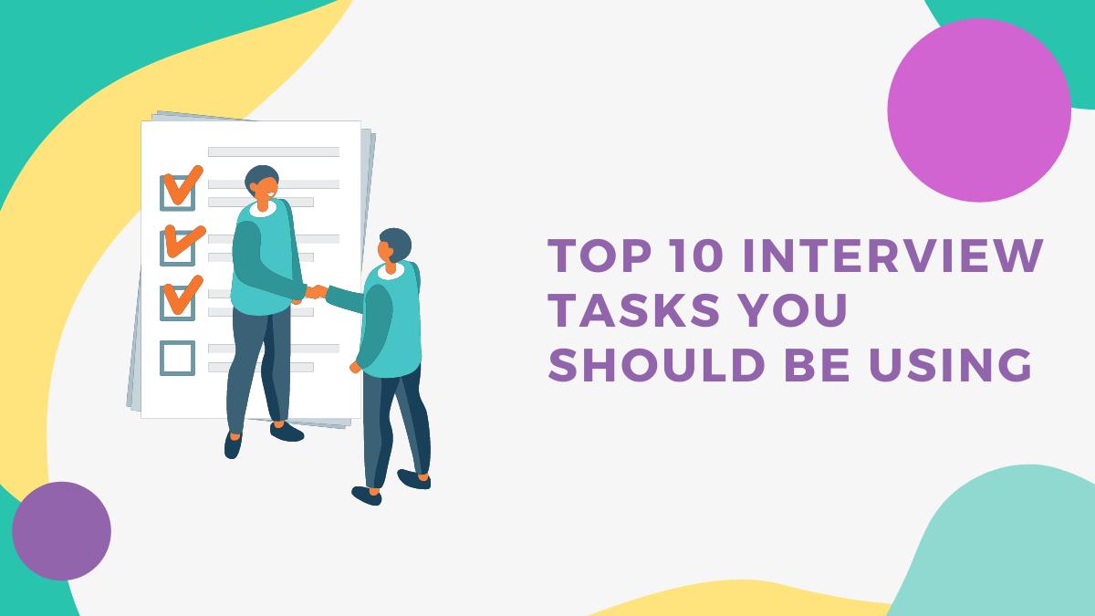 Top 10 interview tasks