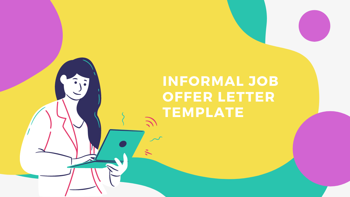 How to Structure an Informal Job Offer Letter