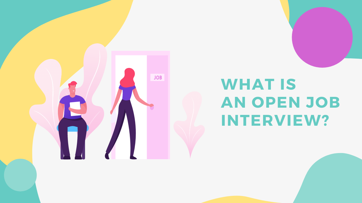 Open job interview diy